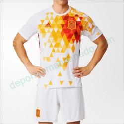 Camiseta Adidas Selección Española Eurocopa 2016 Visitante AA0830