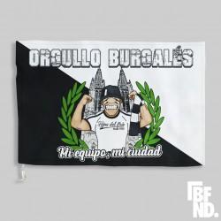 Bandera BURGOS orgullo burgalés BUFANDEA 100X150