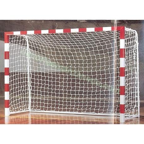 Juego de redes Balonmano/Futbol Sala 3 mm Linea Oro blanco EN749