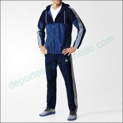 Chandal Adidas Basic 3 Bandas AJ6230