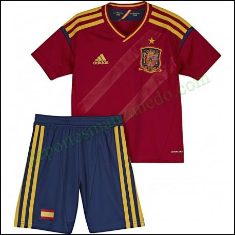 Equipacion niño Adidas Seleccion Española 2012 X16697
