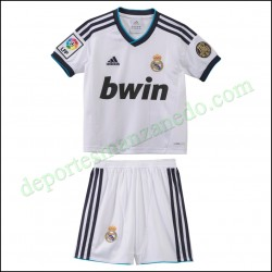 Equipación niño Adidas Real Madrid 12-13 Local W41883
