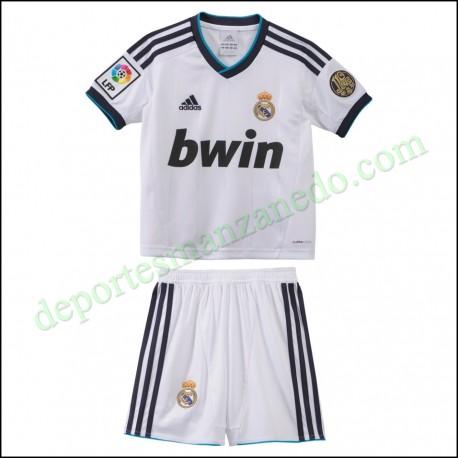 Equipación niño Adidas Real Madrid 12-13 Local W41883