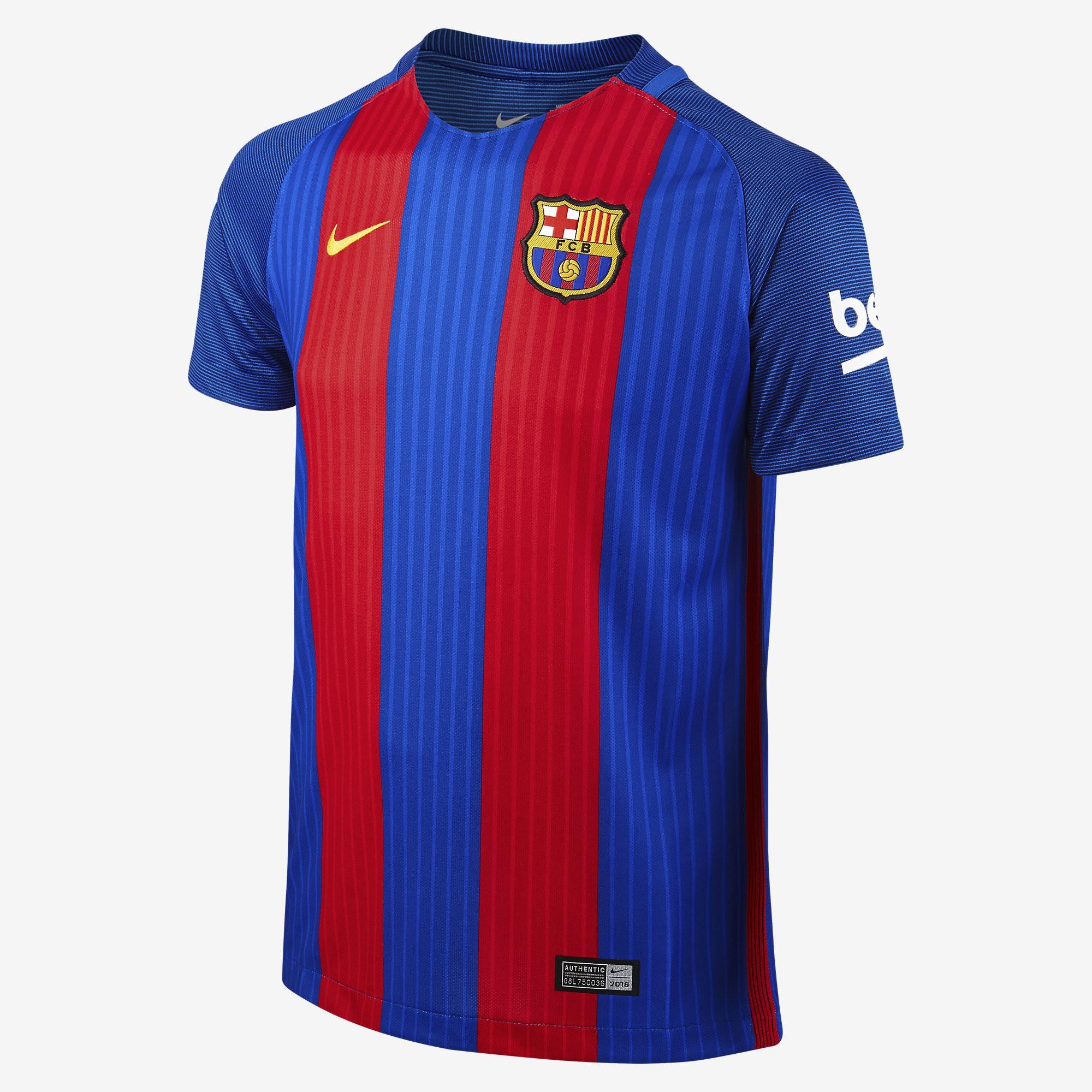 Camiseta Nike FC Barcelona 16-17 Local Junior 777029 481 - Deportes  Manzanedo 453bc5f0333