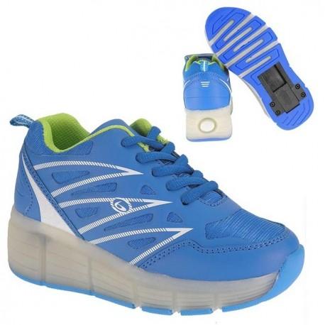 Zapatillas con ruedas y luces Beppi 2151340