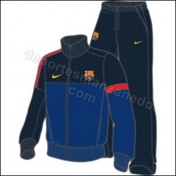 Chandal Nike Barcelona 12-13 LB FCB 486000 435 Niño