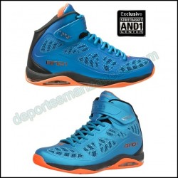 Zapatillas Baloncesto AND-1 Guardian Mid D1044M MBO