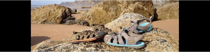 Sandalias y zuecos