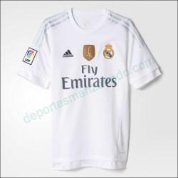 Camiseta Adidas Real Madrid 15-16 Local Adulto AK2494