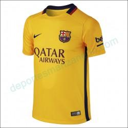 Camiseta Nike FC Barcelona 15-16 Visitante Junior 659028 740